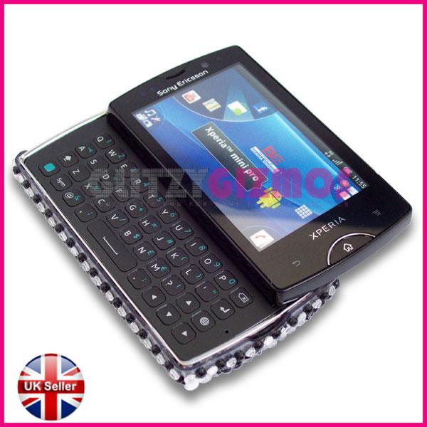 Bling Diamond Glitter Case Cover for Sony Ericsson Xperia Mini Pro